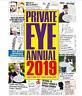 2019 PRIVATE EYE ANNUAL,Hardback,Topical Cartoons,Jokes,Secret Santa,Gift Idea.