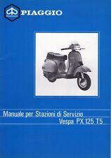 VESPA PX 125 T5 1985-1990 Haynes Manual de reparación de servicio 0707