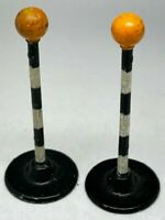 Vintage Dinky Toys No 47d Pair of Dinky Toys Belisha Beacon Zebra Crossing