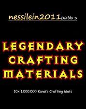 Diablo 3 - Nintendo Switch - Crafting Mats - 10 x 1.000.000 Mats - SC/HC
