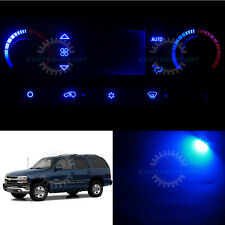 Blue Climate Control AC Heater Temperature LED Light Bulb for 03-06 Tahoe w/LCD