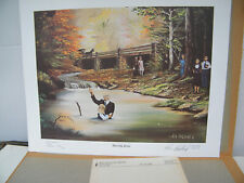 Ken Holland 'Amazing Grace' Signed & Numbered  Art Print 314/500 Most Popular!