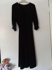 Dorothy Perkins Negro Vestido Talla 10