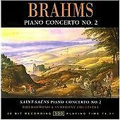 Brahms / Saint-Saëns: Piano Concerto No. 2, , New