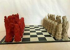 Única asiática juego de ajedrez. China, Japón, oriental.