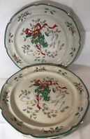 Set of 4 Dinner Plates  Marmalade Christmas-International Tableworks