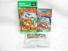 SUPER DONKEY KONG 1 Super Famicom Nintendo Japan Boxed Game sf