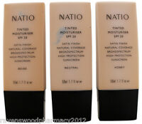 Natio Tinted Moisturiser SPF 20+  50mL ::CHOOSE YOUR SHADE::