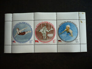 Stamps - Dominican Republic - Scott# C115-C117 - Souvenir Sheet