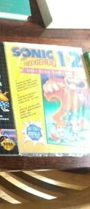 Sonic The Hedgehog 1 & 2 Sega's Official Player's Guide sealed brand new!