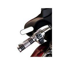 Specchietti retrovisore Arlen Ness Mini Oval Bagger Nero