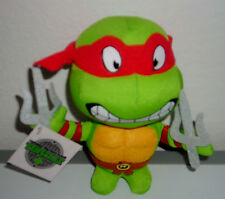 "1 UP BOX TEENAGE MUTANT NINJA TURTLE RAPHAEL 5"" PLUSH BEAN BAG TOY"
