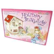 Cubic Fun - 3D Puzzle - Holiday Bungalow - Puzzel Puppenhaus Mädchen beleuchtet