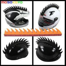 Helmets Stick Motorbike Mohawks Punk Spikes Stick Strip Motorcycle Streetfighter