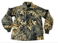 Boys Camouflage Hunting Jacket MADE IN USA Snap Button Kids Sz Youth Medium New
