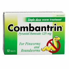 Combantrin 12 Tablets, single dose worm treatment