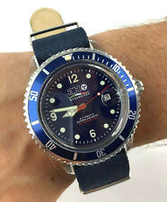 OROLOGIO 3H OCEAN DIVER AUTOMATICO SUPERLUMINOVA WATCH SCUBA CORONA A VITE 44MM