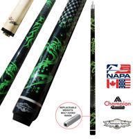 Champion Dragon Pool Cue Stick, Billiard Glove- Predator 314 Taper, 12.75mm