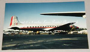 Aerofletes Douglas DC-6 HP-462, Miami, June 1968, Aviation Aircraft Photograph