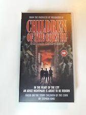 VHS Video ~ Children of the Corn III: Urban Harvest , rare