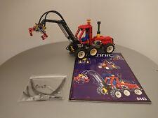 LEGO Technic 8443 Caricatore Gru, Pneumatic Log Loader