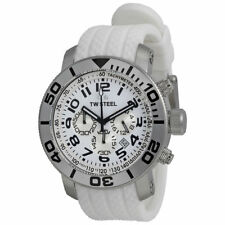 TW Steel TW94 Grandeur Diver Chronograph White Dial Men's Watch