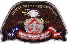 Great Salt Lake Council SA-NEW 2013 Silver Mylar bdr Commissoner Eagle CSP Mint