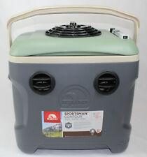 12V Portable Air Conditioner cooler 30 Quart 560 CFM Digital Multi Speed (CAMO)