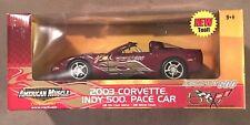 "2003 Corvette Indy 500 Pace Car 1/18"" Die Cast ""American Muscle"" by ERTL JVE:81"