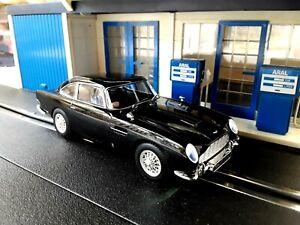 Scalextric Aston Martin DB5 Umbau für Carrera Digital 132 mit Licht in OVP! TOP!