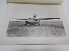 Original 1928 Press Photo: Fokker F-11 Amphibian Airplane - First & Only Made
