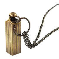 Secret Capsule Necklace - Capsule Container Pendant  Secret Stash
