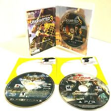 Lot Of 3 PS3 Games 3 Playstation Games (Dead Island/ Batman/ Uncharted 3)