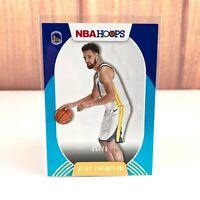 2020-21 NBA HOOPS Klay Thompson 77 Teal Parallel Serial Numbered /70 SP Warriors