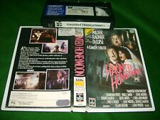 VHS *HAUNTED HONEYMOON* 1986 RCA Columbia Oz Issue - Gene Wilder Comedy Chiller!