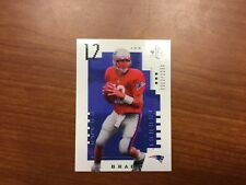 TOM BRADY 2000 SP Authentic Rookie 12/1250 RP REPRINT GREAT FOR FILLER SET
