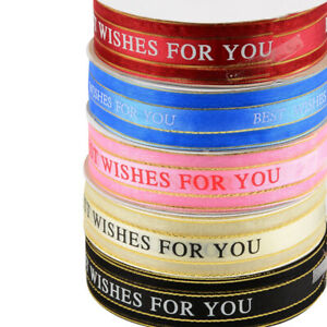 20 yard Bouquet Packing Ribbon Trim Gift Cake Packaging Accessories DIY 25mm