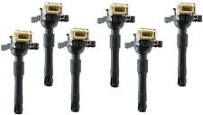 6 X IGNITION COILS FOR BMW 320 323 325 E46 525 530 535 540 E39 M5 X5 12131748018