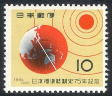 Japan 1961 Japanese Standard Time 75th/Sun/Earth/Time Line/Space 1v (n23907)