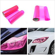 Car headlight Tailight Gloss Pink Tint Vinyl Wrap Film Sheet Overlay Decal Stick