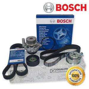 BOSCH ZAHNRIEMEN + ROLLE + WASSERPUMPE + RIEMENSPANNER AUDI A3 VW GOLF BORA 1.6