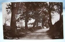 STONEY LANE BLOXWICH WALSALL SOUTH STAFFS VINTAGE REAL PHOTO POSTCARD c.1920s*