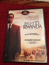 Hotel Rwanda Dvd Movie Drama A True Story Don Cheadle Nick Nolte