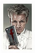 GORDON RAMSAY AUTOGRAPHED SIGNED A4 PP POSTER PHOTO 1