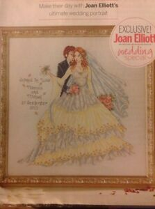 Happily Ever After Wedding Sampler By Joan Elliott Cross Stitch Chart