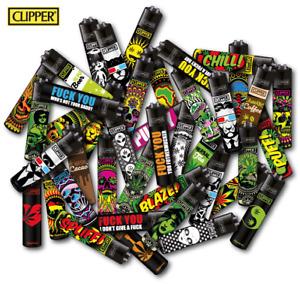 Clipper Feuerzeug Classic Feuerzeuge Mix Clipper Wundertüte  1 - 48 Stück