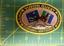 Alaska Yukon Quest 1000 mi DogSled Race Embroidered Patch 2004