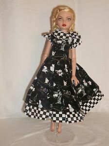 handmade outfit fits Ellowyne Wilde and  slim 1/4  MSD BJD dolls