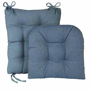 Klear Vu Gripper Jumbo Saturn Rocking Chair Cushion Set, Blue