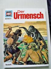 Was ist was Buch Band 9 Der Urmensch Tessloff Verlag Wissen für Kinder